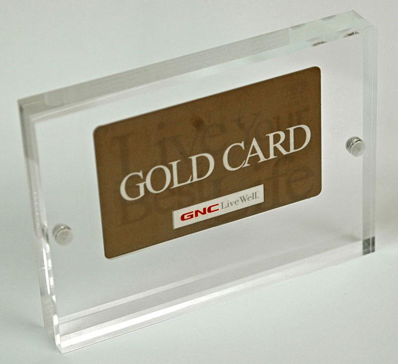 Credit Card Sandwich Acrylic Credit Card Awards Credit